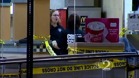 Man stabbed during attempted robbery at McDonald's