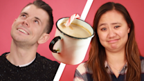 People Try Alcoholic Eggnog