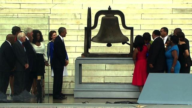 Bell's ringing marks 50th anniversary of March on Washington