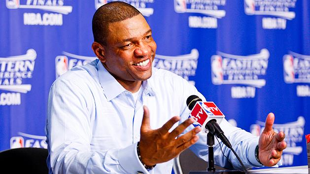 Doc Rivers late because of Tiger Woods
