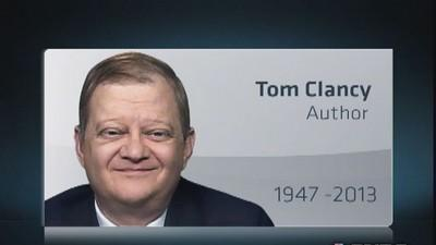Author Tom Clancy dead at age 66