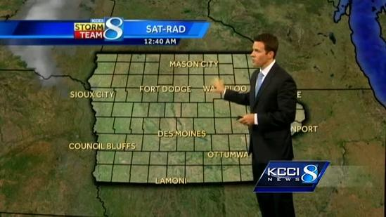 Storms likely for holiday weekend