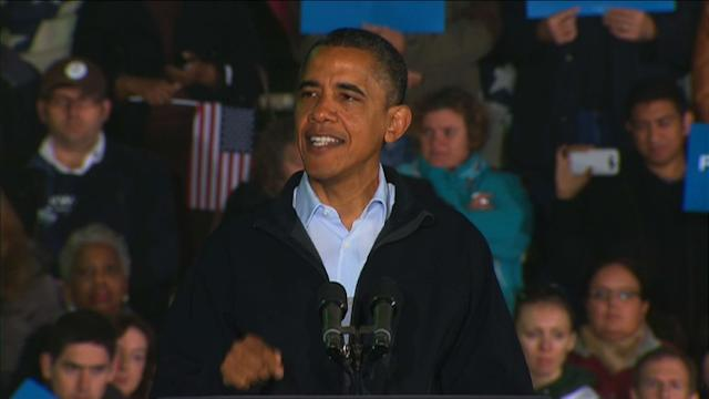 Obama dodges jobs data time bomb as candidates duel in Ohio