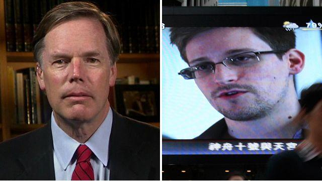 Nicholas Burns: Snowden has done 'enormous damage'