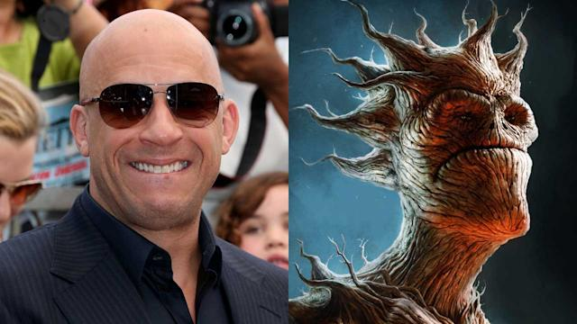 Vin Diesel Preps For GUARDIANS OF THE GALAXY
