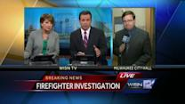 Milwaukee's fire chief speaks about firehouse vandalism