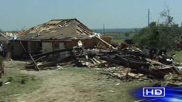 Granbury residents begin post-tornado recovery