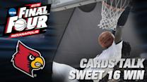 Louisville & Rick Pitino Talk Sweet 16 Win Over NC State   ACC Road to Indy