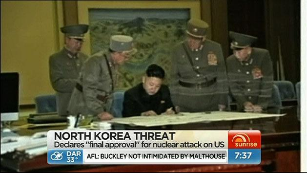 North Korea 'approves nuclear attack'