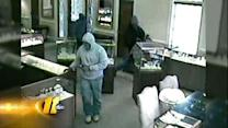 Two jewelry store heist suspects sought