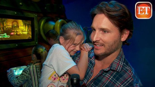 Peter Facinelli's Early Father's Day Celebration