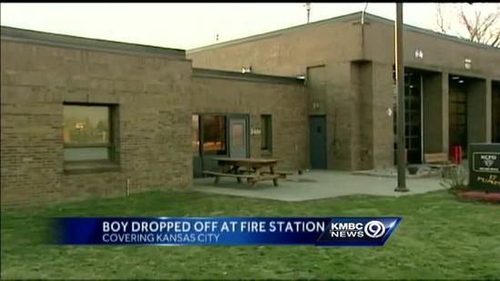 Boy abandoned at KC fire station
