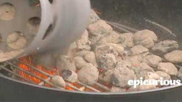 Grilling 101 - Grilling: Direct Heat on a Charcoal Grill