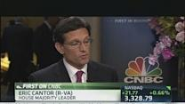 House Majority Leader Cantor on Economy