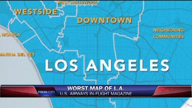 Is This The Worst Los Angeles Map Of All Time?