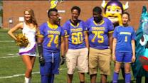 Vikings Help Mpls. Edison High With Irrigation System