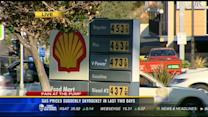Gas prices suddenly skyrocket in the last two days