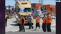 Calif. Truckers On Strike Agree To Cooling-off Period