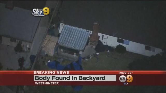 Police Discover Body Next To Fumigated Westminster Home