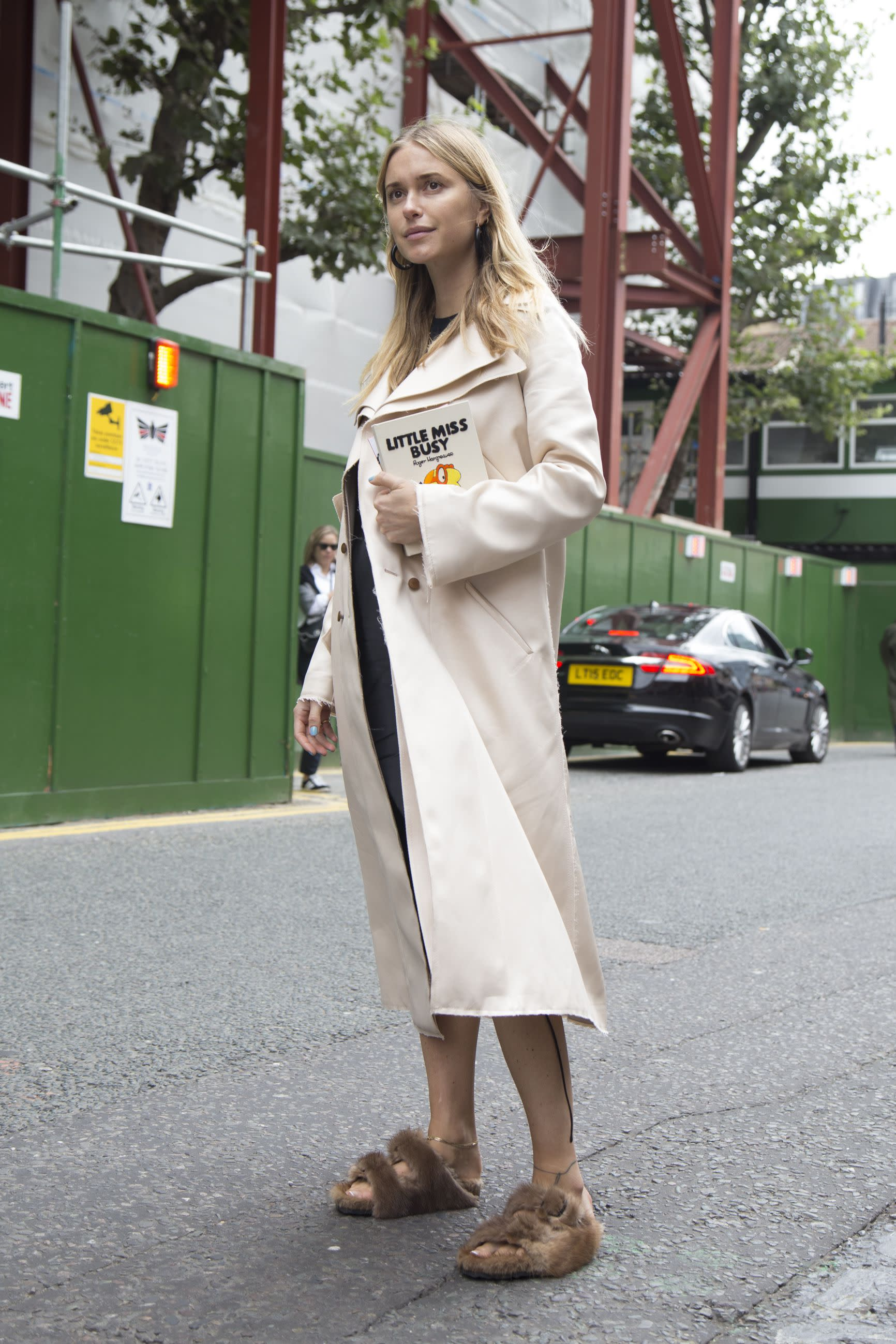 OLYMPIA LE-TAN Street Style - Day 3 - LFW September 2016