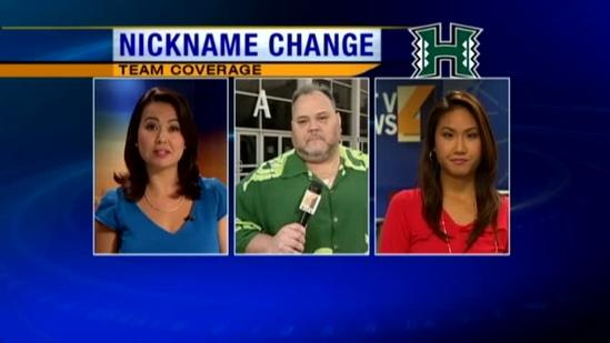 UH Athletics Department changes team names