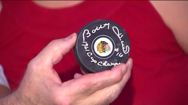Blackhawks legends watch Game 3 from Chicago