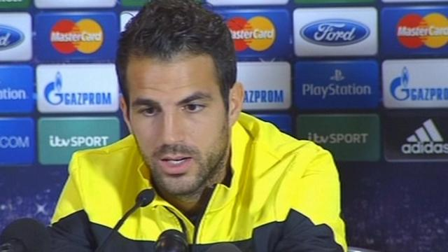 Fabregas says Barcelona will do their best without Messi