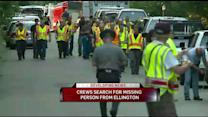 Crews To Continue Search For Ellington Teen