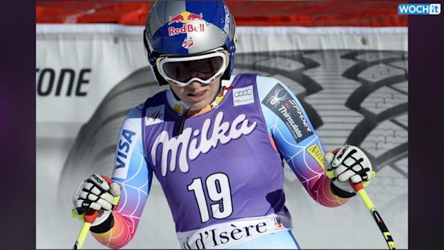 Lindsey Vonn Won't Ski At The Sochi Games