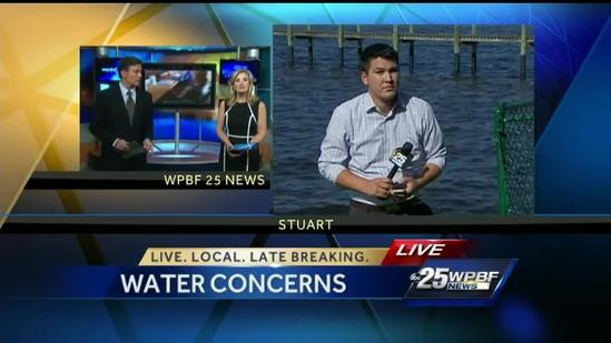 Residents concerned water managements not doing enough about St. Lucie River