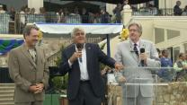 Jay Leno at Pebble Beach: Charity for the community and students