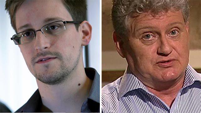 Snowden's father asks son to stop leaks