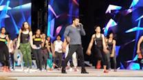 Video: Salman rehearses extensively for Arab-Indo Bollywood awards