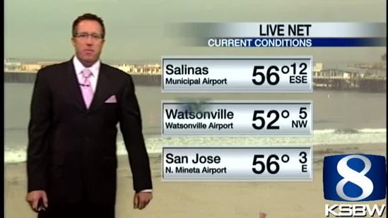 Get Your Monday KSBW Weather Forecast 5.06.13