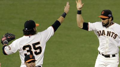 Giants top Cards 6-1, Game 7 Monday
