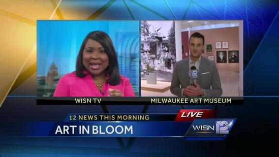 Kidd O'Shea previews Art in Bloom Event at the Art Museum