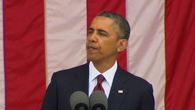 Obama: 'May God Bless the Fallen'