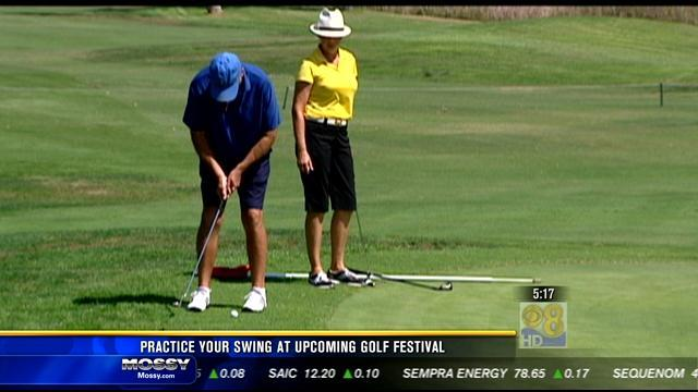 Practice your swing at upcoming Golf Festival