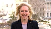 "Sen. Gillibrand ""hopeful"" for break in gridlock"
