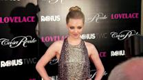 Amanda Seyfried Shows Some Serious Skin at Lovelace Premiere