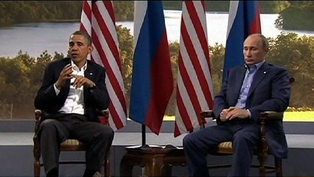 Obama, Putin spar over Syria