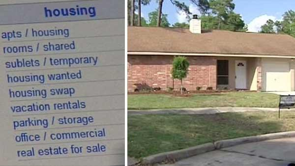 Scammers pretend to be Realtor in Craigslist ad