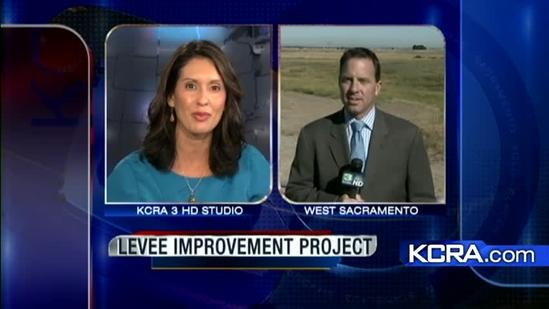 West Sacramento levee improvement project
