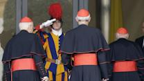 Cardinals meet at Vatican, could set date to elect new pope