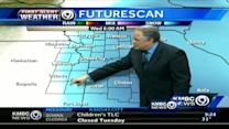 9 a.m. UPDATE: We'll get a break in storm by midday
