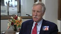 Uncut: WMTW News 8 talks with Sen. Angus King