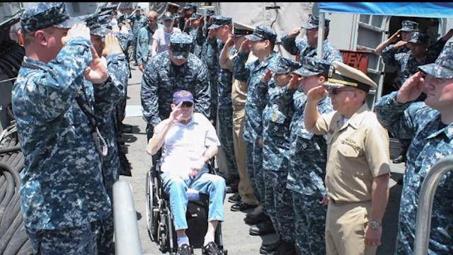 Pearl Harbor survivor`s dying wish fulfilled