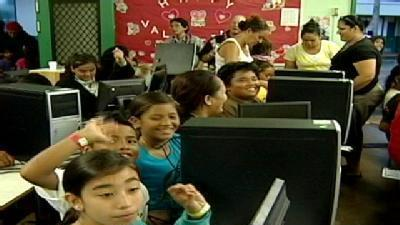 Hauula Elementary Gets High Tech Package