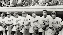 "President recognizes players from the 1920s ""Negro League"""