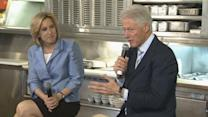 Bill Clinton joins Wendy Greuel at LA mayoral campaign event